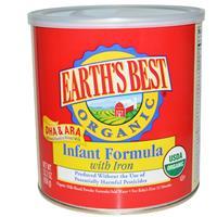 Earth's Best, Organic Infant Formula