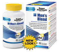 Super Nutrition, Men's Blend, Antioxidant-Rich Multivitamin, Iron Free