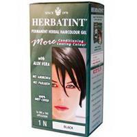 Herbatint Haircolor Gel 1N Black