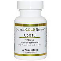 California Gold Nutrition, CoQ10