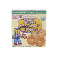 Healthy Times, Maple Arrowroot Cookies