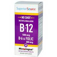 Superior Source B-12