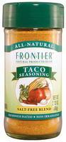 Frontier Natural  Taco Seasoning