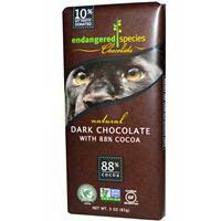 Endangered Natural Dark Chocolate