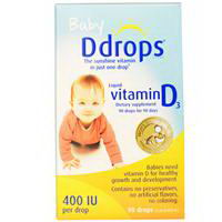 D Drops Baby Liquid Vitamin D3