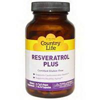 Country Life Resveratrol Plus