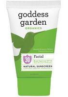 Goddess Garden Facial, Natural Sunscreen