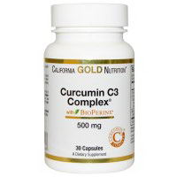 California Gold Nutrition Curcumin C3 Complex