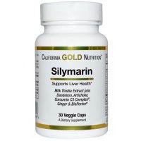 California Gold Nutrition Silymarin