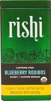 Rishi Tea  Herbal Tea Blueberry Rooibos