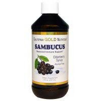 California Gold Nutrition Sambucus