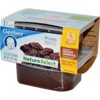 Gerber 1st Foods NatureSelect Prunes