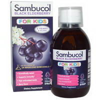 Sambucol Black Elderberry Kids Syrup
