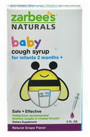 Zarbee's Baby Cough Syrup Mucus Reducer