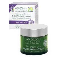 Andalou Naturals Night Repair Cream Q10