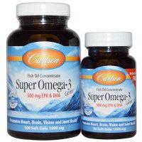 Carlson Labs Super Omega 3 Gems