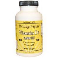 Healthy Origins Vitamin D3 5000 IU