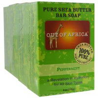 Out of Africa Shea Butter Soap Peppermint