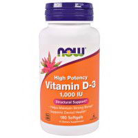 Now Foods Vitamin D-3