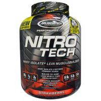 Muscletech Whey Isolate Lean Muscle Strawberry